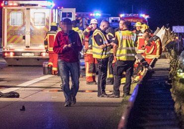 Autofahrer stirbt nach Unfall auf der A7