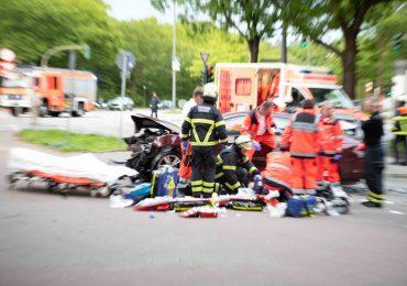 Verkehrsunfall mit schwer verletzter Fußgängerin in Hamburg-Neustadt