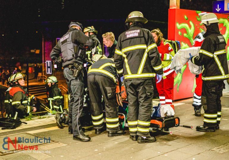 Versuchte Flucht vor der Polizei - Sprung ins Gleisbett endet mit schweren Verletzungen