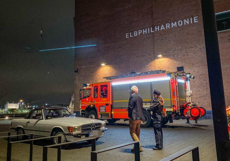 Rauch in der Elbphilharmonie! - Brandmeldeanlage ausgelöst