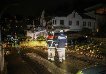 """Orkantief """"Sabine"""" sorgte für zahlreiche  Feuerwehreinsätze"""