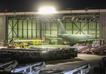 Bundeswehr fliegt mit Covid-19 erkrankte Patienten nach Hamburg