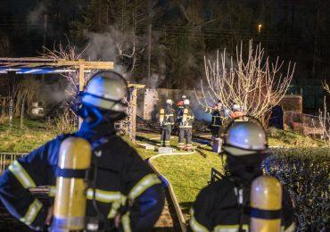 Brandstiftung? - Schon wieder Flammen in Hamburgs Osten