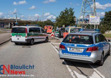 """Person beim Zollamt """"Waltershof"""" angefahren und verletzt!"""