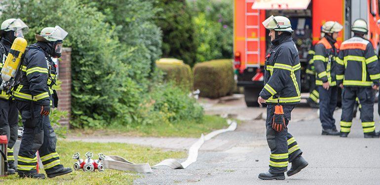 Ein wohlmöglich defektes Kabel löst größeren Feuerwehreinsatz aus