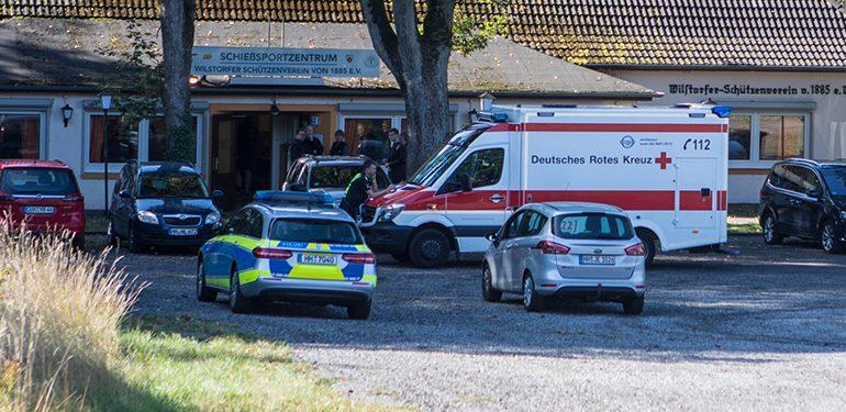 Mit Gewehr selber angeschossen! - Drama im Wilstorfer Schützenheim