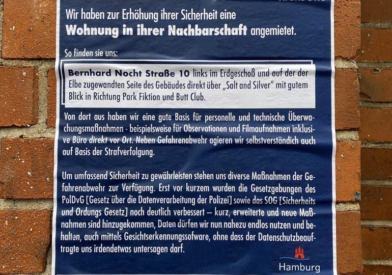 Überwachungswohnung der Polizei auf St. Pauli aufgedeckt?